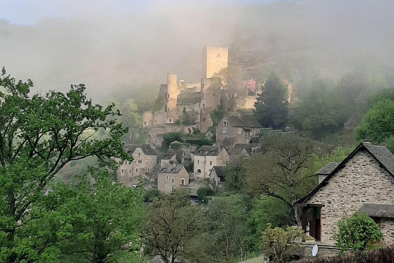 Château brouillard