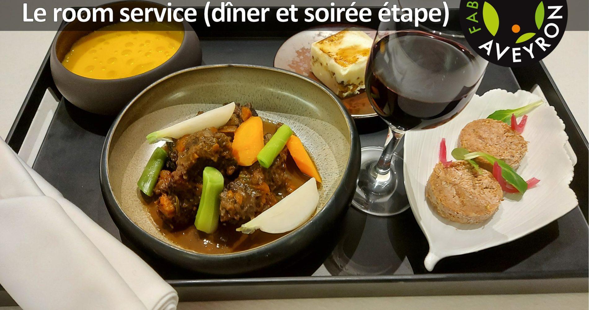 soiree etape hotel Rodez